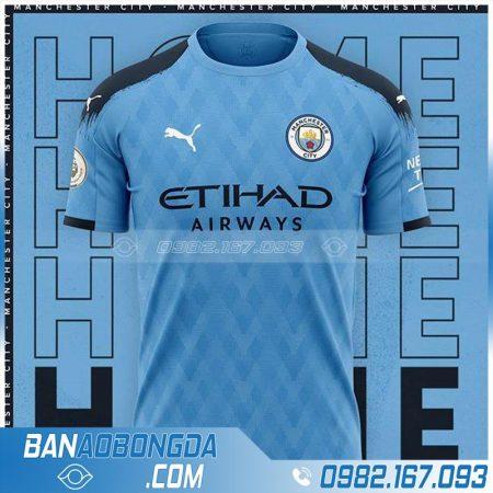 áo bóng đá man city thiết kế theo yêu cầu