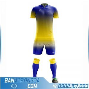 áo bóng đá không logo tự thiết kế đẹp