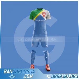 áo bóng đá google map đẹp