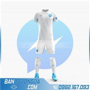áo bóng đá messenger thiết kế theo yêu cầu