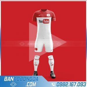 áo bóng đá youtobe thiết kế đẹp