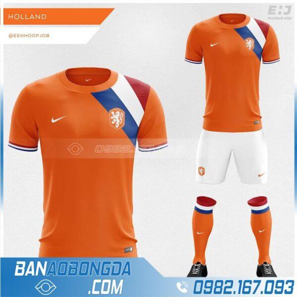 Áo đội tuyển Hà Lan tự thiết kế