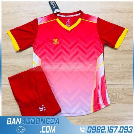 áo bóng đá không logo màu đỏ giá rẻ