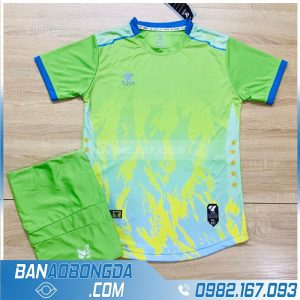áo đấu bóng đá màu xanh chuối