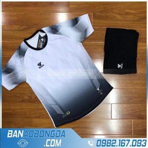 áo bóng đá không logo màu trắng xịn