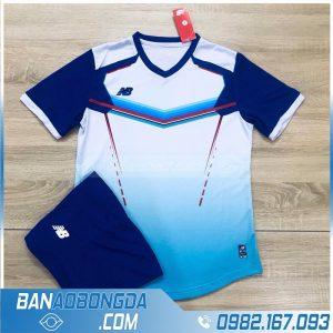 áo đấu bóng đá không logo 2020 HZ LM màu trắng đẹp