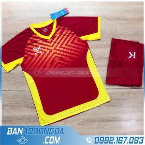 áo thể thao không logo HZ NQ01 màu đỏ cao cấp