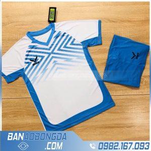 Áo thể thao không logo HZ NQ1 màu trắng rẻ đẹp