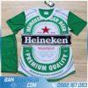 áo bóng đá bia heineken