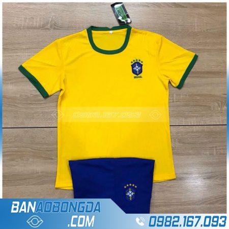 áo bóng đá đội tuyển Brazil cho bé