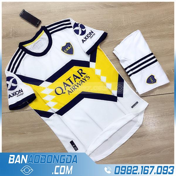 áo bóng đá clb CABJ màu trắng