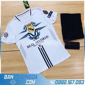 áo Real Madrid training màu trắng