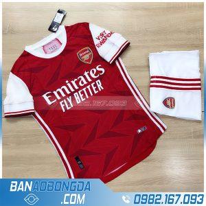 Mẫu áo Arsenal 2021 training màu đỏ