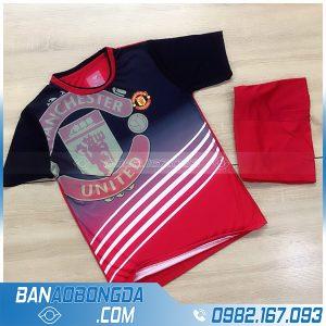 quần áo bóng đá MU 2021 training màu đỏ