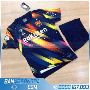 áo Barcelona 2021 chế màu đen