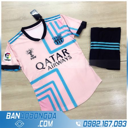 áo barcelona 2021 training màu hồng