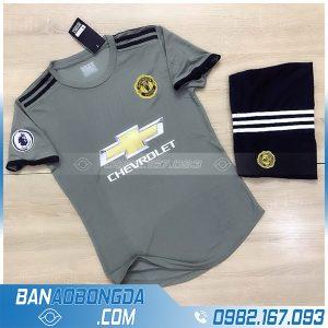áo bóng đá Manchester United chế màu xám