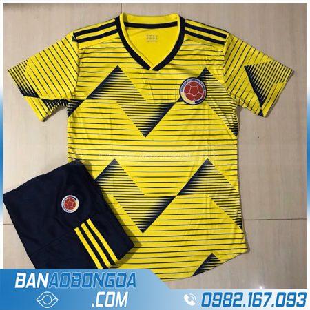áo đội tuyển Colombia màu vàng