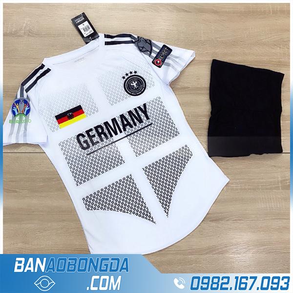 Quần áo đội tuyển Đức 2021 training màu trắng đẹp