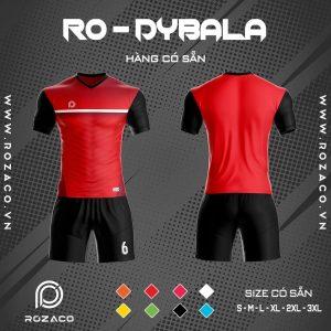 áo bóng đá không logo Dybala màu đỏ đẹp và độc