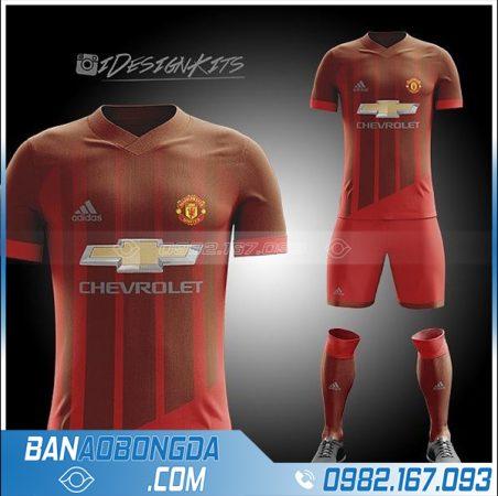 áo Manchester United thiết kế theo yêu cầu HZ359