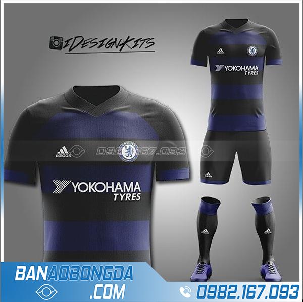 áo bóng đá Chelsea tự chế HZ 360