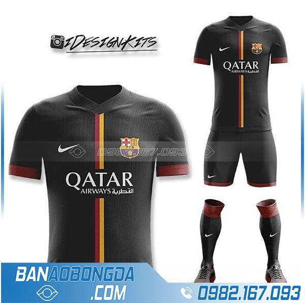 áo barcelona tự thiết kế HZ 361 siêu đẹp