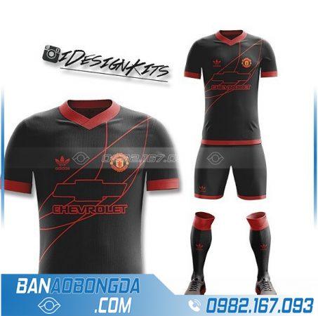 áo bóng đá MU 2021 thiết kế riêng HZ 363