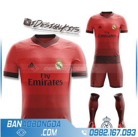 áo bóng đá Real Madrid HZ 364 tự chế