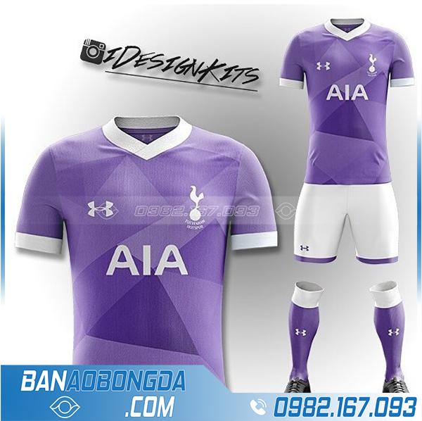 áo bóng đá Tottenham màu tím HZ 365