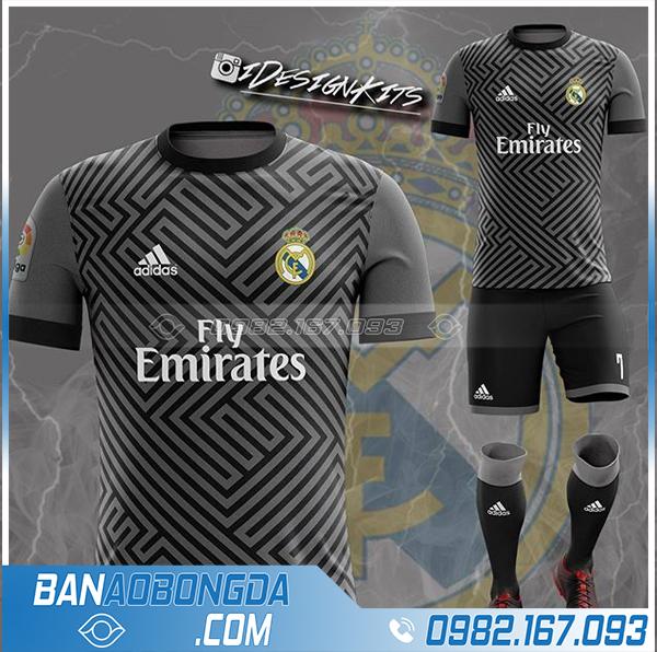 áo Real madrid 2021 tự chế đẹp và độc