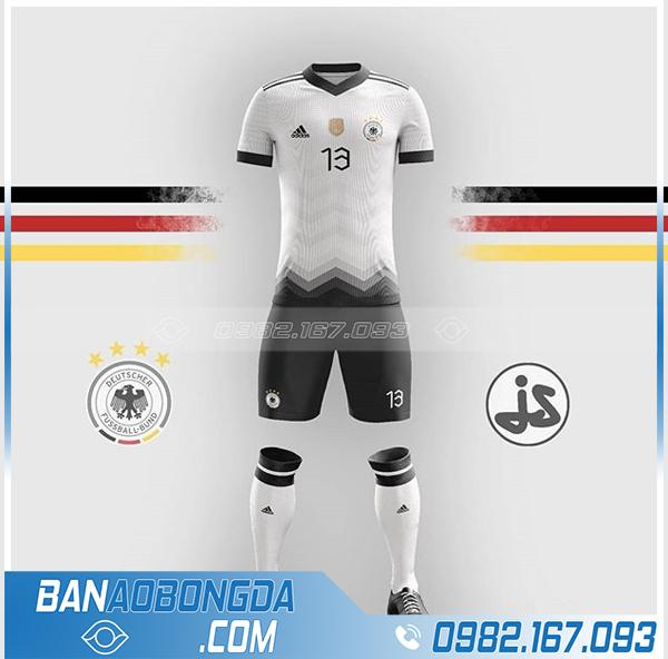 áo đội tuyển Đức thiết kế đẹp HZ 380