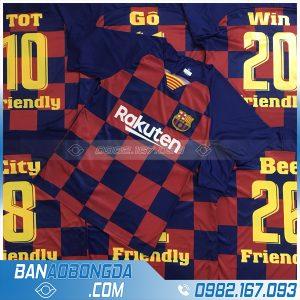 font in áo bóng đá Barca HZ 30