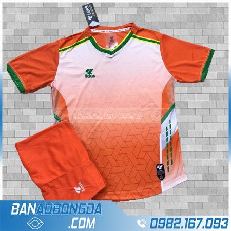 áo bóng đá không logo cao cấp LM13 màu cam