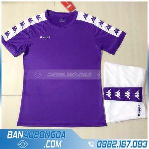 áo bóng đá không logo LM14 màu tím đẹp