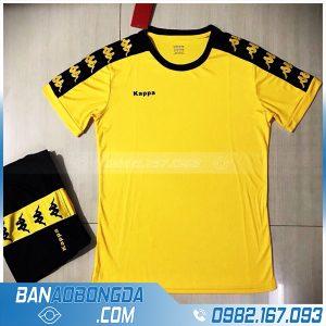 áo bóng đá không logo 2020 LM14 màu vàng