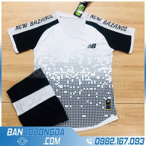 áo bóng đá không logo 2020 LM15 màu trắng