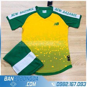 đồng phục bóng đá không logo LM15 màu vàng