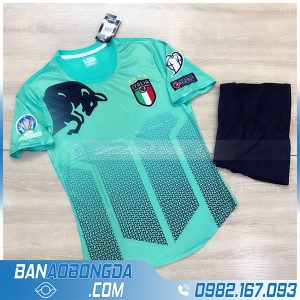 áo đội tuyển Ý 20202 chế màu xanh lá cực đẹp