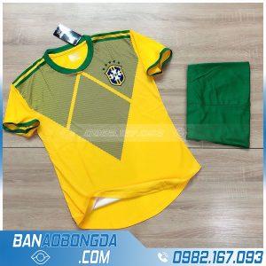 áo đá banh đội tuyển Brazil 2020 màu vàng