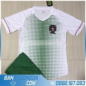 áo đội tuyển Bồ Đào Nha 2020 màu trắng