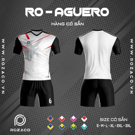 áo bóng đá không logo xịn màu trắng
