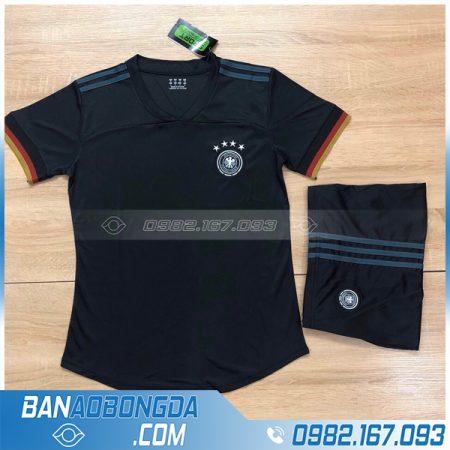 áo bóng đá đức 2020 màu đen vải thái lan