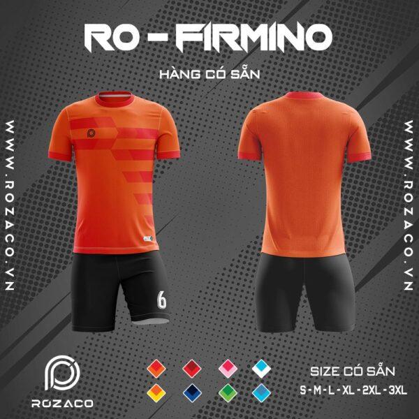 áo đấu không logo Firmino màu cam