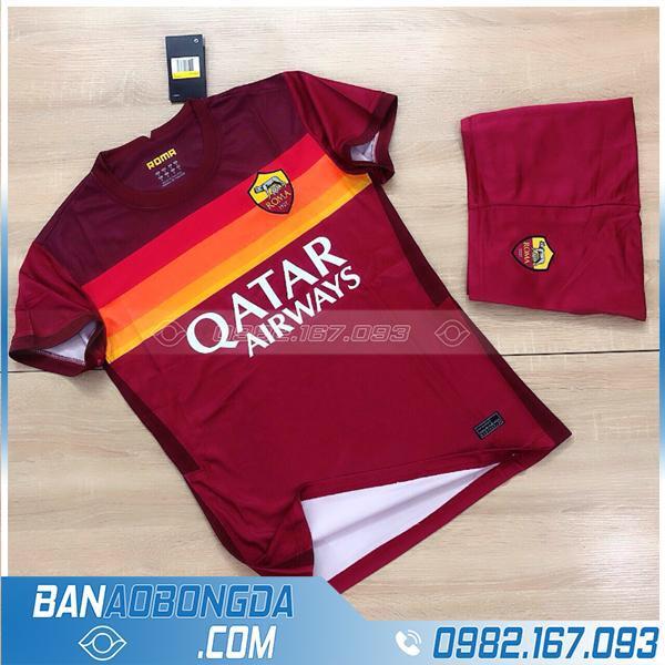 áo As Roma 2021 chính thức màu bã trầu