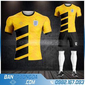 Bộ quần áo đội tuyển anh màu vàng cực đẹp HZ 371