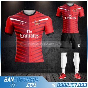 áo bóng đá Arsenal chế HZ 399 đẹp