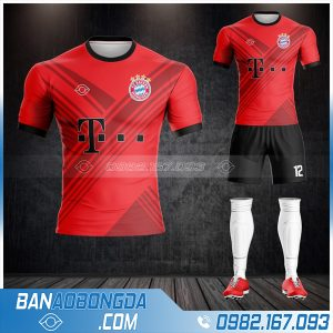 Áo bayern Munich 2021 training HZ 414