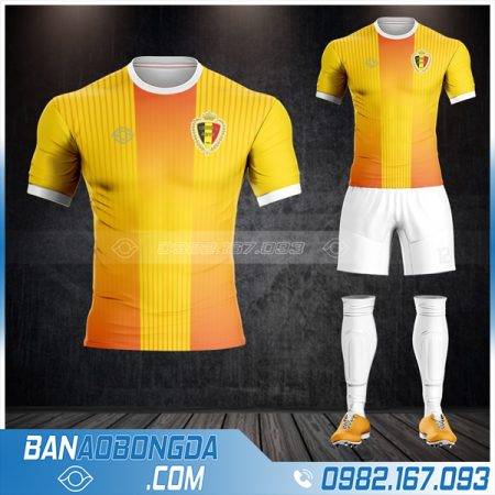 áo đt bỉ 2021 màu vàng mới nhất