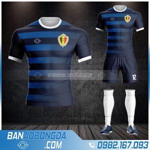 quần áo bóng đá đội tuyển Bỉ HZ 479 màu xanh đen